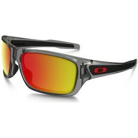 Oakley Turbine grey ink/ruby iridium polarized